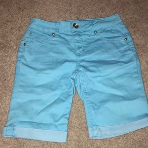 Justice Bottoms - Blue jean shorts